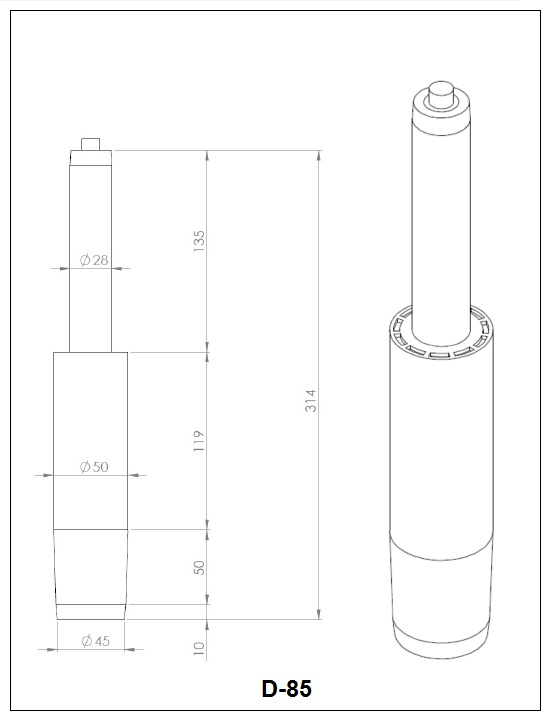 Газлифт D-85