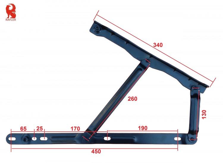 Механизм подъема кровати 4014